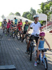 Ferienprogramm Radstrecke