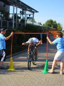 Ferienprogramm Radstrecke Ziel